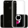Пицца Apple iphone7 телефон случае iphone7 мобильный телефон защиты оболочки борьбы серебро пальца кольцо пряжка кронштейн прозрачной оболочки 4.7 дюйма телефон