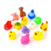 MyMei 13Pcs Lovely Mixed Colorful Rubber Can float On water And sound when Squeeze You Squeaky Bathing Toy For Bath Duck rakesh kumar tiwari and rajendra prasad ojha conformation and stability of mixed dna triplex
