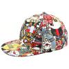 Фото [Супермаркет] Jingdong ожесточенная Гданьск (шведские кроны) MMZ160087 унисекса бейсбольной кепки шляпа Корейская версия хип-хоп вампир шаблон синей шляпы солнца