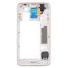Для Samsung Galaxy I9600 S5 G900H жилищем задней части средней рамки шатона объектива камеры держатель для мобильных телефонов samsung s5 i9600