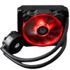 ID-ОХЛАЖДЕНИЕ Frostflow 120 AM4 First Memorial Edition Интегрированный охладитель процессора с водяным охлаждением Full Platform Single Row Red and Black Fan Edition 1more super bass headphones black and red