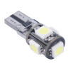LED T10 Canbus Белый 5 SMD 5050 168 194 W5W CANbus автомобилей стороне клина Лампочки free shipping 2pcs lot t10 5 smd 5050 led canbus error free car lights w5w 194 5smd light bulbs no obc error white blue red