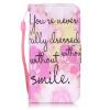Розовый Улыбка Дизайн Кожа PU откидная крышка карточки бумажника держатель случая для SAMSUNG J5 улыбка обучающие карточки одежда
