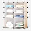 Ие шелковые шкафы простого шкафа шкаф хранения стеллажей для хранения экологически чистая пластиковая вешалка одежды организовать два дна 4-слойных усиливая обычный шкаф полку