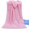 Энтони большие простые хлопковые полотенца, банные полотенца полотенца мягкие, впитывающее полотенце компресс означает розовый одиночный 65 × 130см / бар большие банные полотенца киев