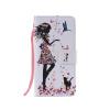 Дизайн для девочек и кошек Кожа PU Кожаный флип-чехол Кожаный чехол для LG G5