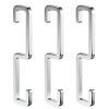 Enzorodi ERD7677Y свободные отверстия алюминиевые кухонные стойки кухонные и вешалки для ванной комнаты 3 крючка