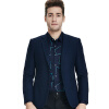Бао Ло Фади BAOLUOFADI мужской бизнес случайный пиджак мужской Корейский Тонкий небольшой костюм синий 48 266 304 904 lo not equal пиджак