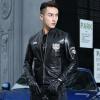 мужчины кожаную куртку, длинные рукава одежды осенью witer подлинного овчины motocyle пальто настоящая кожа новый стиль