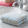 Jingdong [супермаркет] Jie Я. (Grace) текстильная хлопок полотенце сильный абсорбент полотенце толстый удобный синий 130г 74 * 34см