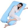 Le беременных женщин беременных хлопка подушки многофункциональный талии подушка позиционные подушка U-образная подушка уход подушку ly827s-b1 свободный голубой Размер (130 * 70см) s quire s quire ly b9 3