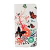 Красочные бабочки Дизайн PU кожа флип кошелек карты держатель чехол для WIKO Tommy красочные бабочки дизайн pu кожа флип кошелек карты держатель чехол для iphone 5c