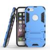 Синий Slim Robot Armor Kickstand Ударопрочный жесткий корпус из прочной резины для IPHONE 7 синий slim robot armor kickstand ударопрочный жесткий корпус из прочной резины для htc desire 10