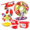 AULDEY 134 комплектов Супер летающие люди Магнитные листы Образовательные игрушки Строительные блоки игрушка кукла (содержащей Melody) игрушка auldey yw858801 0