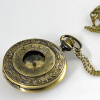 New Unique Mechanical Pocket Watch with Chain for gift  240124 mysterious doctor who antique pocket watch with neckalce chain free shipping best gift for men women