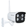 HOSAFE SV1MB1W-SD 720P Outdoor IP Camera Built-in 32GB Micro SD Card w/ H.264/ Motion Detection/ E-mail Alert/ IP66 ssk scrm 060 multi in one usb 2 0 card reader for sd ms micro sd tf white