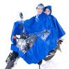 (Kendo) наружная езда электрические мотоциклы мотоцикл плащи мужчины и женщины двойной пончо утолщение P3-N голубой 5XL камины электрические