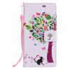 Дизайн дерева и кошки Кожа PU Кожаный флип-обложка Чехол для карты SONY XZ дизайн дерева и кошки кожа pu кожаный флип обложка чехол для карты lg g5