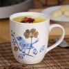 «Люби меня, любит зеленый (Evergreen) Креативные чашки кофе тисненой позолоченную Jingdezhen любители кружка керамической чашки чашка молоко завтрак чашку» кружка птичье молоко