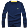Мужские свитера CARTELO с длинным рукавом Мужские удобные повседневные мужские свитера 16018KE12311 Deep Blue 3XL