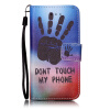 Палм Дизайн Кожа PU откидная крышка бумажника карты держатель чехол для IPHONE 6S черный цветочный дизайн кожа pu откидная крышка бумажника карты держатель чехол для iphone 6s