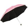 Jingdong [супермаркет] рай зонтик UPF50 + увеличение армированного винила полоса шелк цветок стебель просто сложенный зонтик зонтик стал бежевым 30056ELCJ upf50 rashguard bodyboard al004