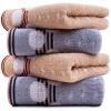 [Jingdong супермаркет] Ли причесано вафельные полотенца 4 установлены в тонкой части 34 композиции для смешивания × 72см лица полотенца одного цвета индивидуально упакованные именные полотенца в воронеже