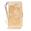 Golden Rose Дизайн Кожа PU откидная крышка бумажника карты держатель чехол для IPHONE 5S лаки для ногтей golden rose лак golden rose rich color тон 156