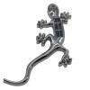 Сюань Laid побед (XUANSHENGTE) XST-Bh4 толстые твердые наклейки чистый металл серебро геккон автомобиль Gecko король размер 16см * 7см письмо размер 9.5cm * 1.5cm