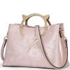 (FOXER) Г-ж Ворл новая европейская и американская случайный мешок плеча Мобильной Сумки женская из кожи сумка из розового золота 958120F1W