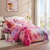 LOVO домашний текстиль постельные принадлежности набор 4 штуки 100% хлопок простыня и чехол на одеяло mercury постельные принадлежности набор 4 штуки простыня с набивной чехол на одеяло 100