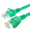 Shanze (SAMZHE) Высокоскоростной UTP CAT5e кабель Fast сети на основе компьютерных сетей прыгун кабель категории 5 Кабель закончил зеленый GR-520 20 м