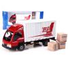 1:50 модель автомобиля Kaidi Вэй работает ван запечатанный грузовик металла закрытые грузовики почтовые автомобили