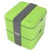 Monbento оригинальной двойного квадрата правил микроволновку обед коробка японских бледно-зеленые коробки 120,003,005 monbento оригинальная двойной правили микроволновки обеда коробок японская сирень коробка 120 012 117
