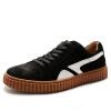 OKKO мужская обувь повседневная обувь британская мужская обувь ретро кожаная обувь мужская обувь обувь 8761 черный 42 ярдов мужская обувь