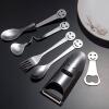 Китай Код WorldCom (HDST) из нержавеющей стали столовые приборы 6 Набор творческие подарки посуда посуда подарки смайлик смайлик часть бытовых творческих задатков удовольствия