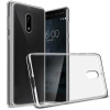 KOOLIFE Nokia телефон оболочки прозрачный защитный кожух 6 / силикон оболочки падение сопротивления для Nokia поддоном 6 (Nokia6) nokia 6700 classic illuvial