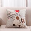 Итальянский мужчина мебель подушка подушка подушка офис диван подушки подушка автомобиль талия подушка подушка (с сердечником) романтический щенок