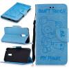 Светло-синий медведь Стиль Тиснение Классический откидная крышка с подставкой Функция и слот кредитной карты для Nokia 6 светло синий медведь стиль тиснение классический откидная крышка с подставкой функция и слот кредитной карты для google pixel