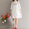 CITYPLUS классическое платье с вышивкой платье с вышивкой