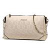 Ворсли (FOXER) сумки тисненая кожа цепь плечо сумка г-жа Сумка кожаная женская сумка небольшой ароматный ветер 956004F2D белый