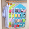 MyMei Multifunctional 16 Pockets Hanging Storage Bag New Home Wall Door Storage Bags Shoe Organizer Rack Closet Organizer sosw 3 in 1 card office pencil pen pot stationery storage box organizer storage organizer rose red
