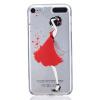 Красный Платье девушки Pattern Мягкий Тонкий TPU Резиновый Силиконовый гель Дело Чехол для iPod Touch 5 хондроитин 5% 30г гель