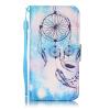 Синий Ветер Chime Дизайн Кожа PU откидная крышка бумажника карты держатель чехол для IPHONE 7G волк дизайн кожа pu откидная крышка бумажника карты держатель чехол для iphone 7g