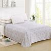 Красное вино кровать домашний текстиль расчесан хлопок хлопок двуспальная кровать кнопка Торонто 230 * 250 см
