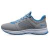 Xtep (XTEP) мужская мода случайные и удобные ретро спортивные кроссовки серые синие 41 984 119 119 578