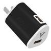 Moqi Si Dual USB мобильный телефон зарядное устройство / зарядное устройство / Универсальное зарядное устройство / питания USB адаптер / зарядное устройство Apple, Эндрюс мобильный телефон черный 1.5A cabos usb cавтомобильное зарядное устройство с зажигалкой