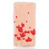 Красный цветок шаблон Мягкий Тонкий TPU резиновый силиконовый гель случае покрытия для Lenovo A6000 бальзамы indola бальзам indola keratin straight 150 мл