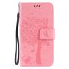 Pink Tree Design PU кожа флип крышку кошелек карты держатель чехол для HUAWEI Y5II