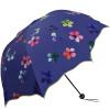 Рай зонтик (UPF50 +) полный оттенок черный резиновый три раза солнце зонтик солнечный зонт 31823E фиолетовый зонт женский isotoner ниагара 4 сложения полный автомат цвет черный